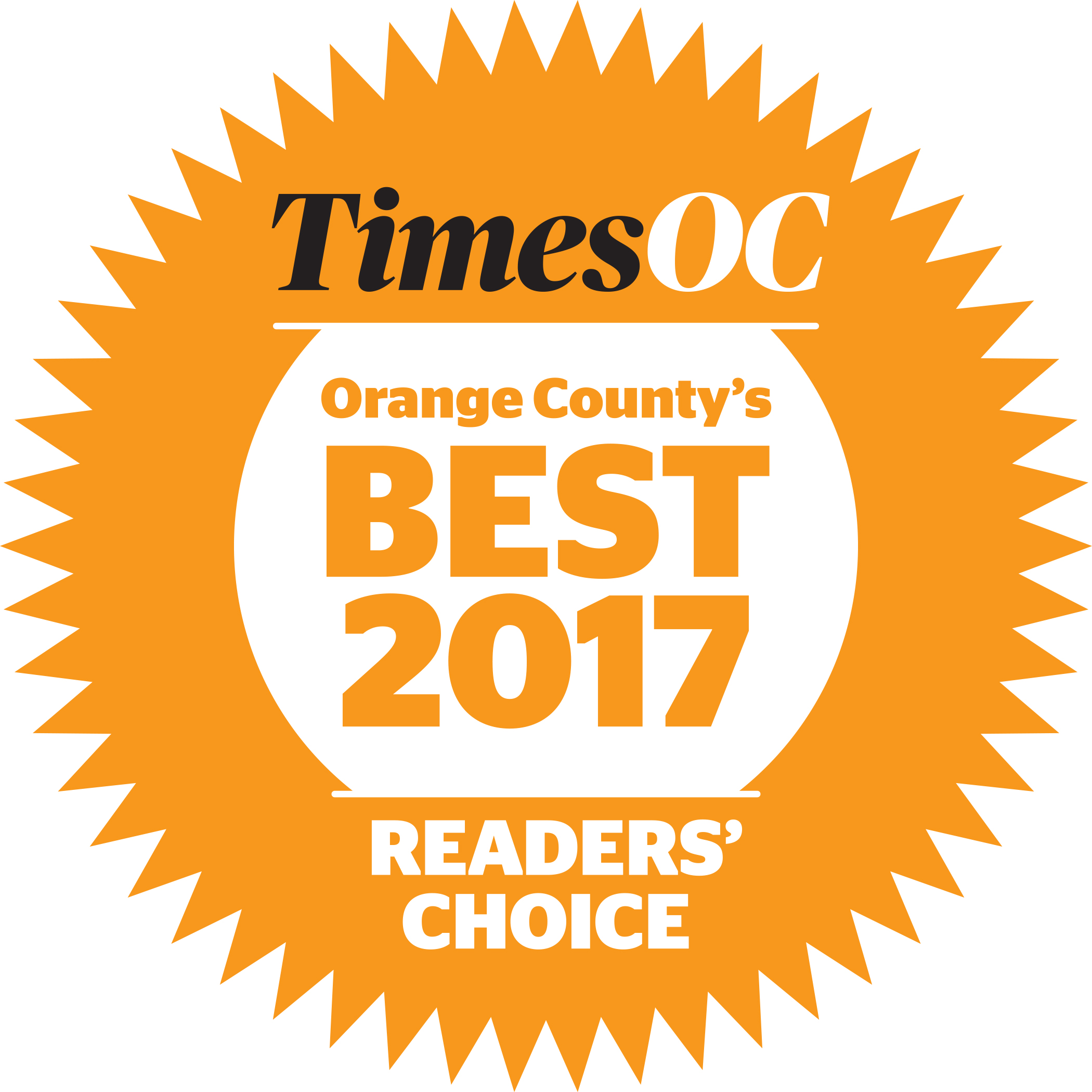 TimesOC Best2017 RGB - MARINERS ESCROW CORPORATION